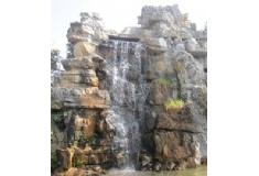 塑石假山瀑布造型