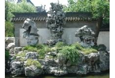 塑石假山小区造景