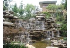 塑石假山生态园1