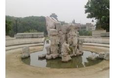 塑石假山公园造景水池