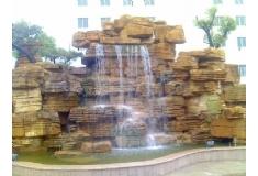 塑石假山瀑布造景