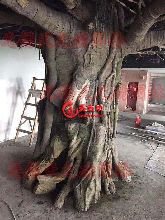 杭州农业科技中心展厅仿真树
