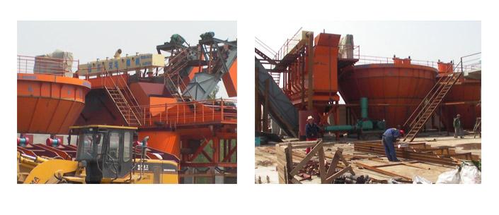 艾华洗煤设备阜新天惠集团安装现场