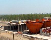 艾華洗煤設備阜新天惠集團安裝現場