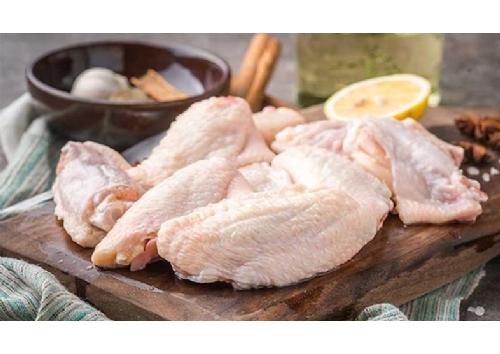 单冻鸡翅中2斤 烧烤食材鸡翅膀
