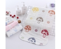 纯棉纱布童巾