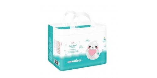 小萌希奥(Cute Seal)软萌天使 婴儿纸尿裤单包多款式尿不湿 天使软萌XL码-28片