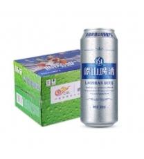 崂山啤酒清爽8度330ml*24听 整箱装