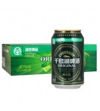 千島湖啤酒 (CHEERDAY )乐享时光 啤酒 330ml*24听