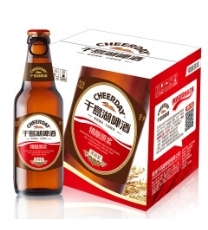 千岛湖啤酒(CHEERDAY )9°P精酿原浆啤酒420ml*6瓶