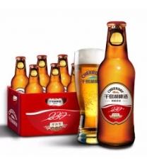 千島湖啤酒(CHEERDAY)加布里黑啤 418ml *12瓶