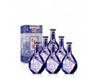 红星 白酒 珍品 蓝花瓷 二锅头 清香型 52度 500ml