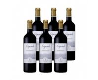 法国Lafite拉菲传奇波尔多进口干红酒葡萄酒6支装整箱