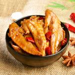 休闲零食肉脯小吃 烧烤味碳烤鸡翅