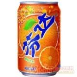 可口可乐 芬达橙味 汽水