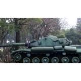 充气坦克目标车
