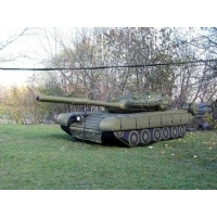 陆地军事假目标坦克