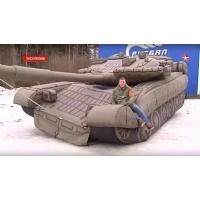 充气军用坦克