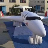 充气军用模型飞机