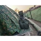 充气军用帐篷
