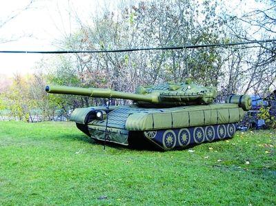 充气坦克的使用方法
