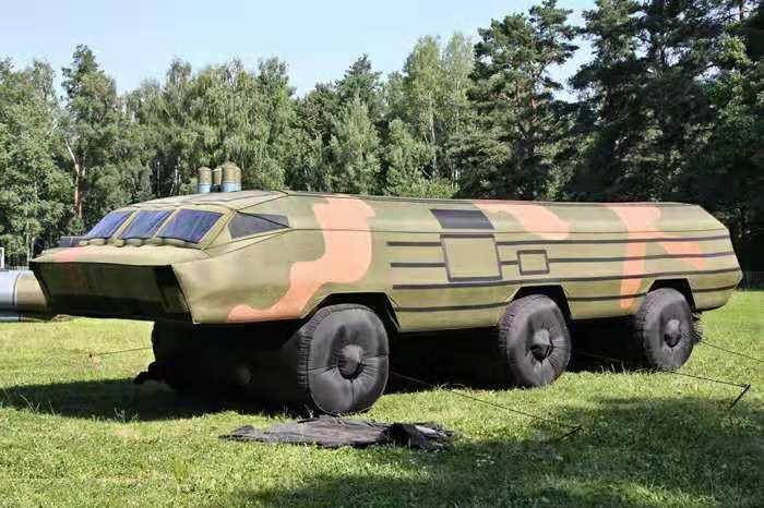 充气飞机军事假目标充气模型演习