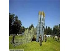 高仿充气导弹发射车
