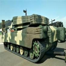 军用充气装甲车