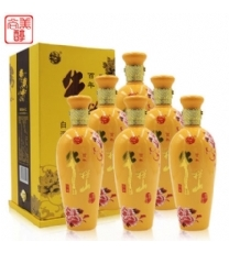 牛栏山二锅头白酒酒寻知己浓香型黄色瓶42度